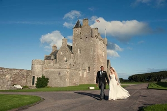 Ackergill Tower wedding venue