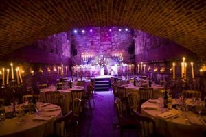The Caves Edinburgh wedding venue