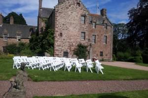 fingask castle weddings