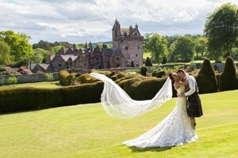 Guthrie Castle wedding venue