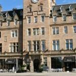 Malmaison Edinburgh wedding venue