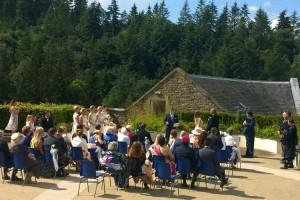 new lanark mill hotel wedding venue
