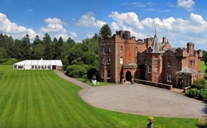 friars carse hotel wedding venue