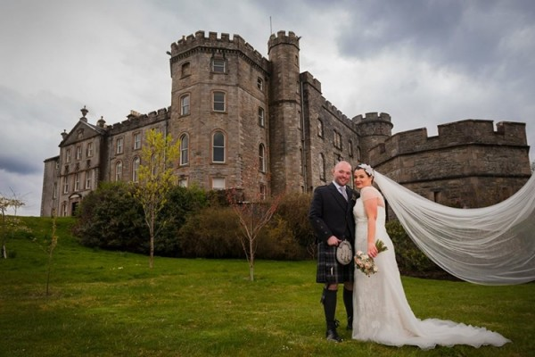 lochnell castle weddings