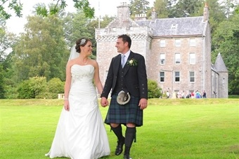 Culcreuch Castle wedding venue