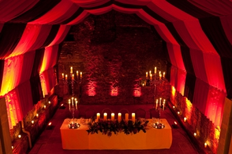 The Caves Edinburgh wedding venue