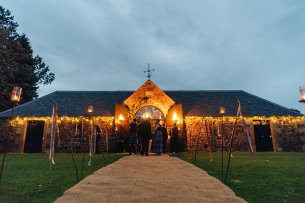 the byre at inchyra weddings