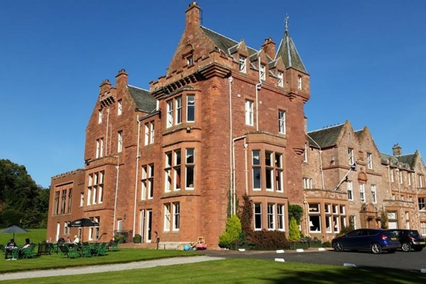 dryburgh abbey hotel wedding venue