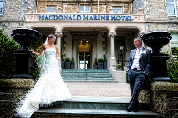 macdonald marine hotel weddings