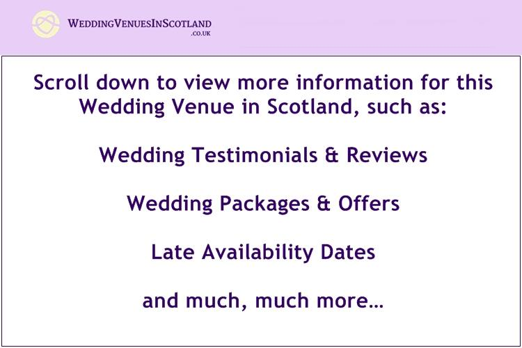 Dumfries Arms Hotel Weddings   Offers   Packages   Photo