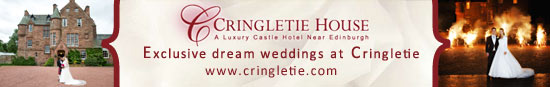 cringletie house hotel wedding venue